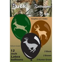 """Next Camo 12"""" Latex Balloons (6 Pack) - Party Supplies"""