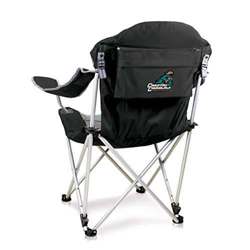 Reclining Camp Chair -Black (Coastal Carolina University ) Digital Print by