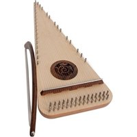 Roosebeck Alto Rounded Psaltery - Left Hand