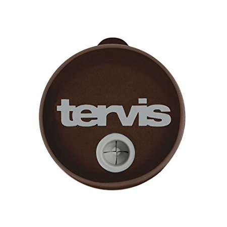 Tervis Straw Lid For 24 oz Tumbler and Mug - Packaged, Brown with - Personalized Tumblers With Lid And Straw