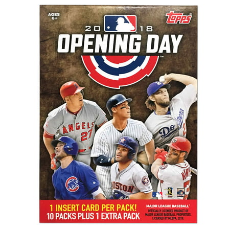 2018 Topps MLB Opening Day Baseball Value Box Trading Cards