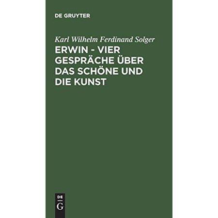 Erwin Vier Gesprache Uber Das Schone Und Die Kunst