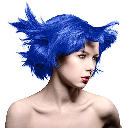 Manic Panic Amplified Semi-Permanent Hair Color ~Shocking Blue~ 4 oz. Bottle