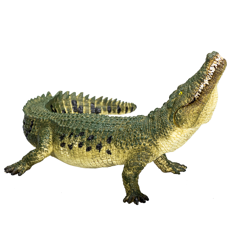 ALLIGATORS Crocodiles GATORS Set of 6 Mini Plastic Surprise Toy FIGURINES Figure