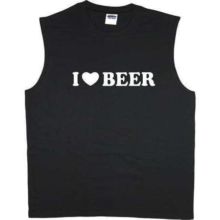 I Love Beer t-shirt sleeveless t-shirt muscle tee for men](I Love Bears)