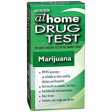 4 Pack  - At Home Drug Test Marijuana 1 Each