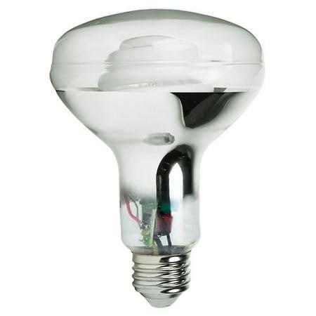 BR30 CFL, 15W, 65W Equal, 2500K, 44 Lumens Per Watt, GE 87427