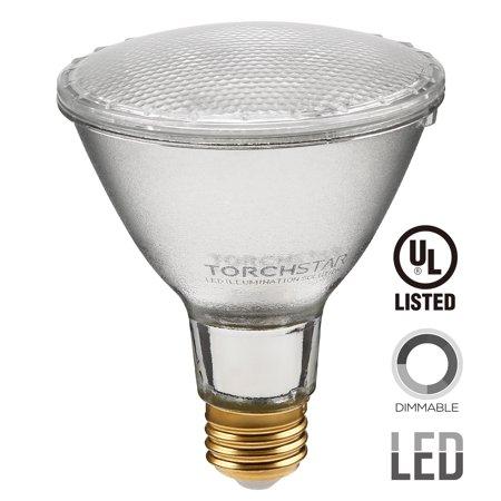 TORCHSTAR LED Flood Light Bulb PAR30, LED Light Bulb, 11W (75W Equivalent) LED Spot Light, E26 Base, 5000K Daylight