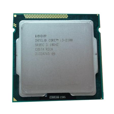 Refurbished Intel Core i3-2100 LGA 1155/Socket H2 3.10GHz 5 GT/s SR05C (Intel Core I3 Socket 1156)