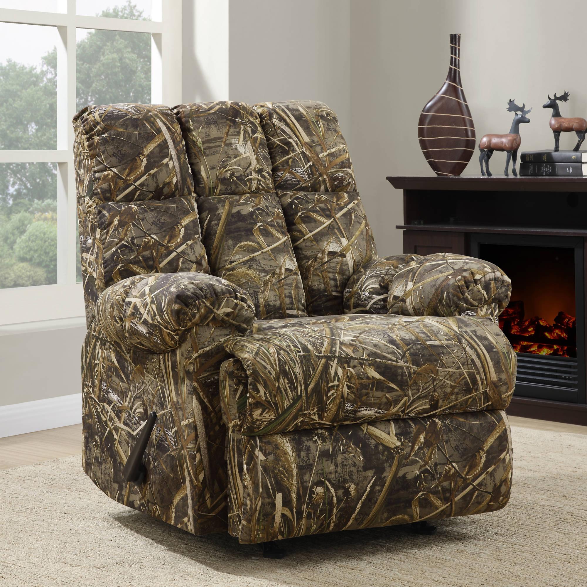 Dorel Living Realtree Camouflage Rocker Recliner - Walmart.Com