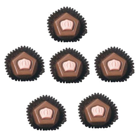 - Asher's Raspberry Milk Chocolate French Truffles, 6 Pounds
