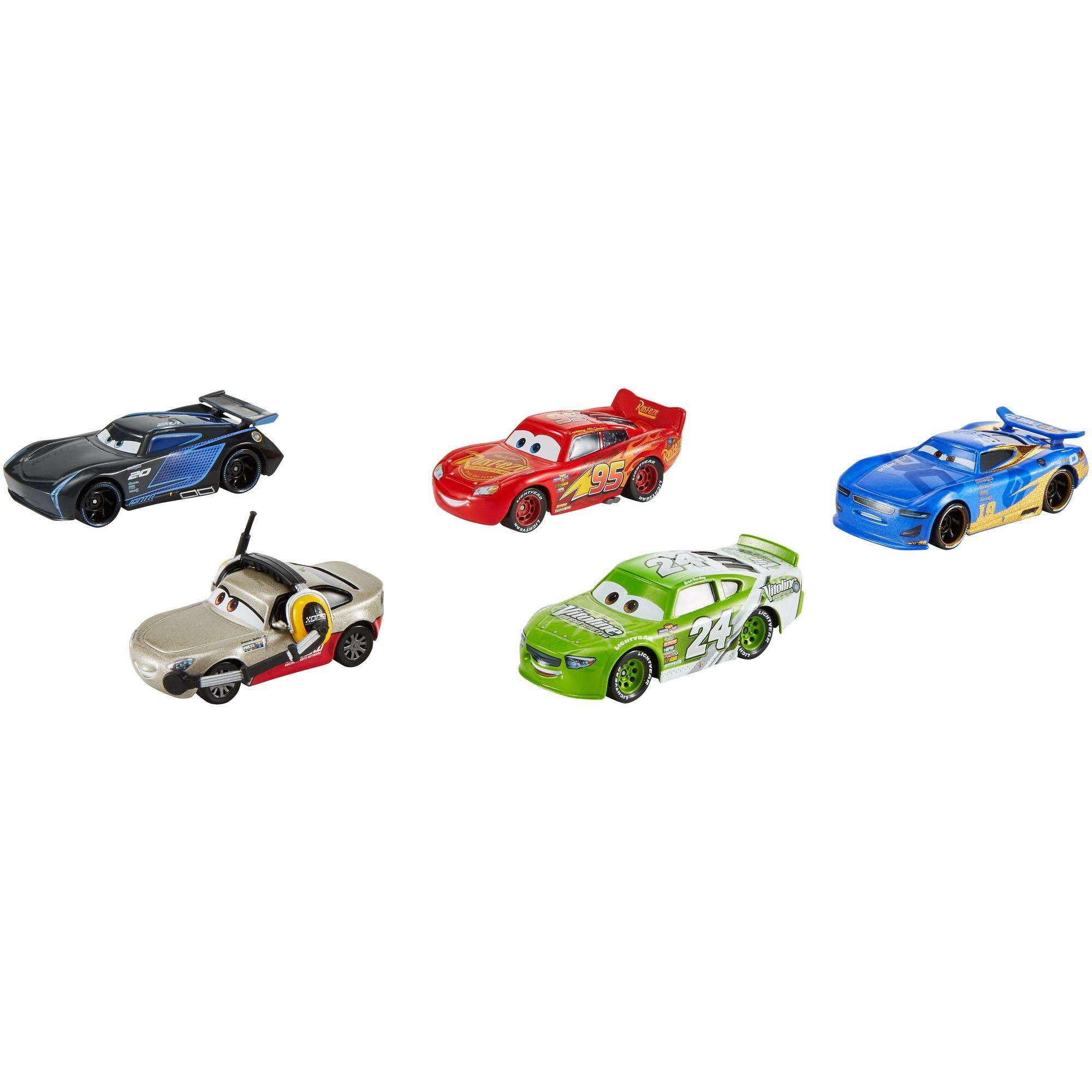 Disney Pixar Cars 3 Piston Cup Race 5 Pack Die Cast Vehicles