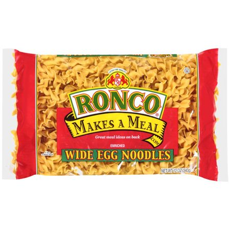 (11 Pack) American Italian Pasta Ronco Makes A Meal Egg Noodles, 12 oz