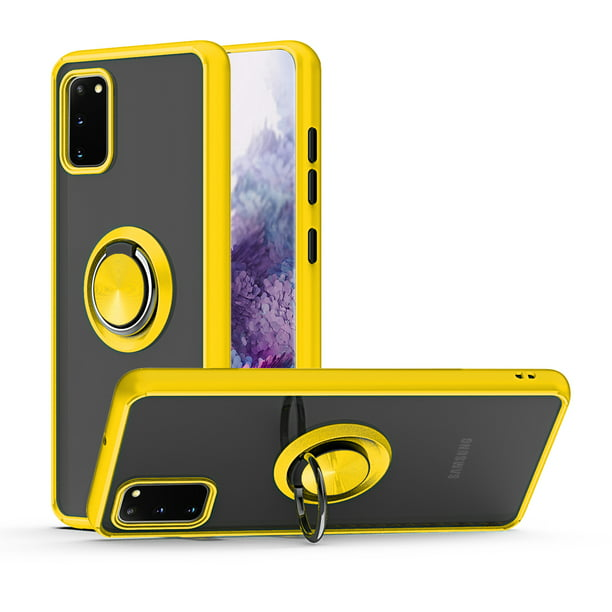 Samsung Galaxy A01 Core Phone Case Slim Strong Protective Kickstand Multi Function For Samsung Galaxy A01 Core Phone Case Yellow Walmart Com Walmart Com