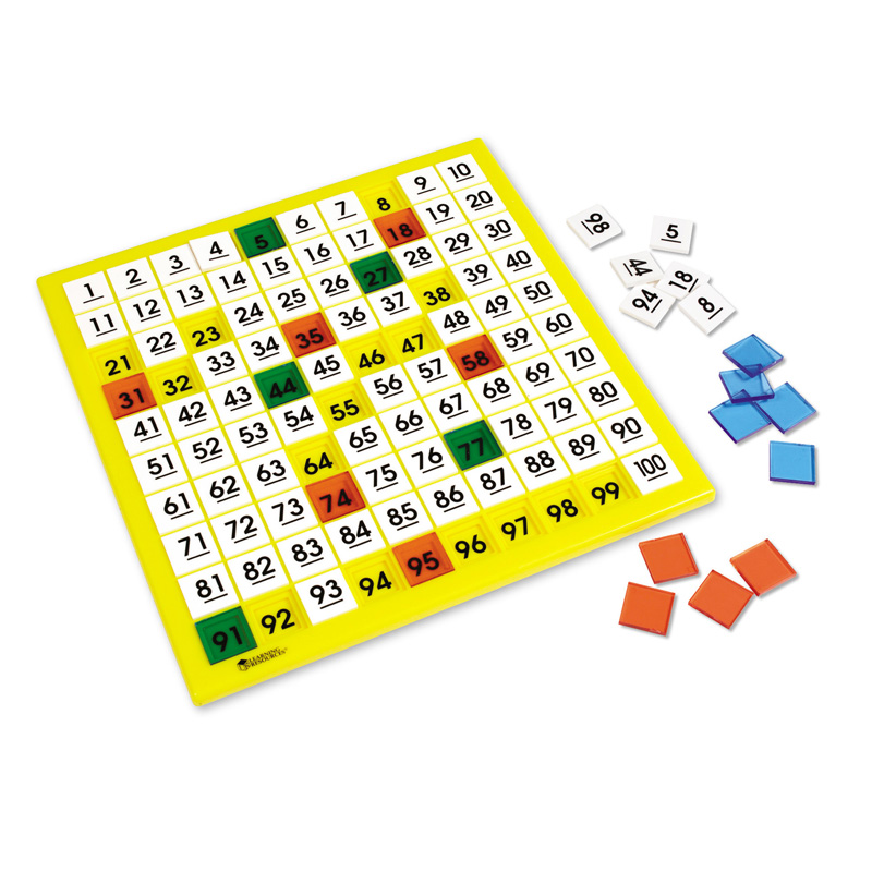 Learning Resources Plastic Hundreds Board