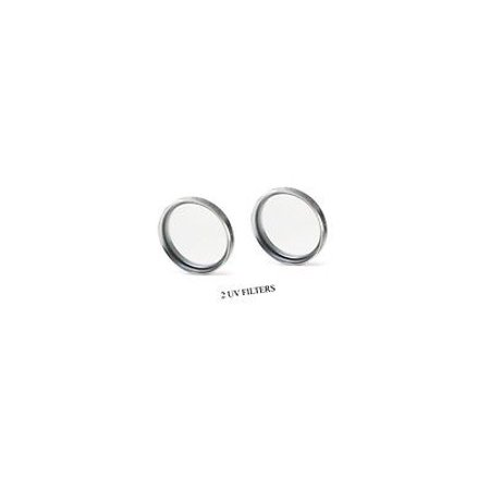 2 UV Filters for Sony HDR-HC7E, Sony HDRHC7E, Sony CCD-TRV43E, Sony CCDTRV43E, Sony CCDTRV36E, Sony HXR-NX70 (Sii Ccd Filter)