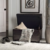 Safavieh Madison Small Rustic Solid Upholstered Storage Bench