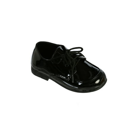 Avery Hill Boys Leatherette Derby Oxford Dress Shoes
