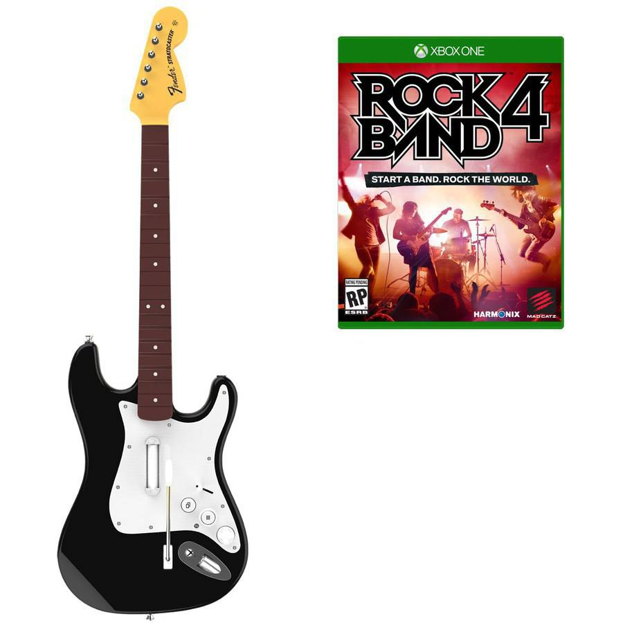Rock Band 4: Wireless Fender Stratocaster Guitar Bundle (Xbox One)