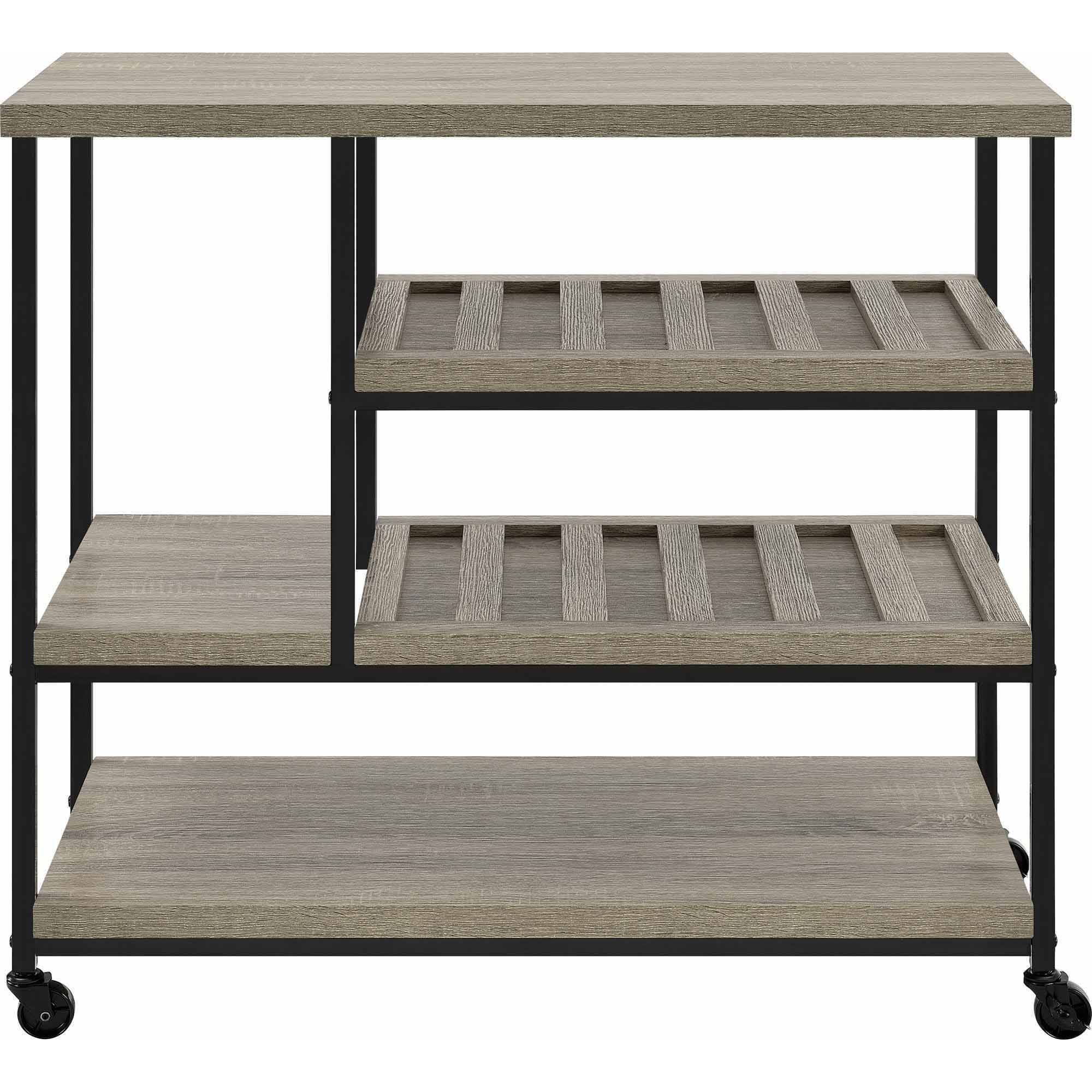 Elmwood Multi-Purpose Cart, Sonoma Oak - Walmart.com