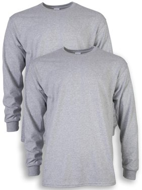 444ff052aeb6 Product Image Gildan Men's ultra cotton long sleeve t-shirt, 2-pack, up to