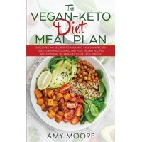 The Vegan Keto Diet Meal Plan (Paperback)