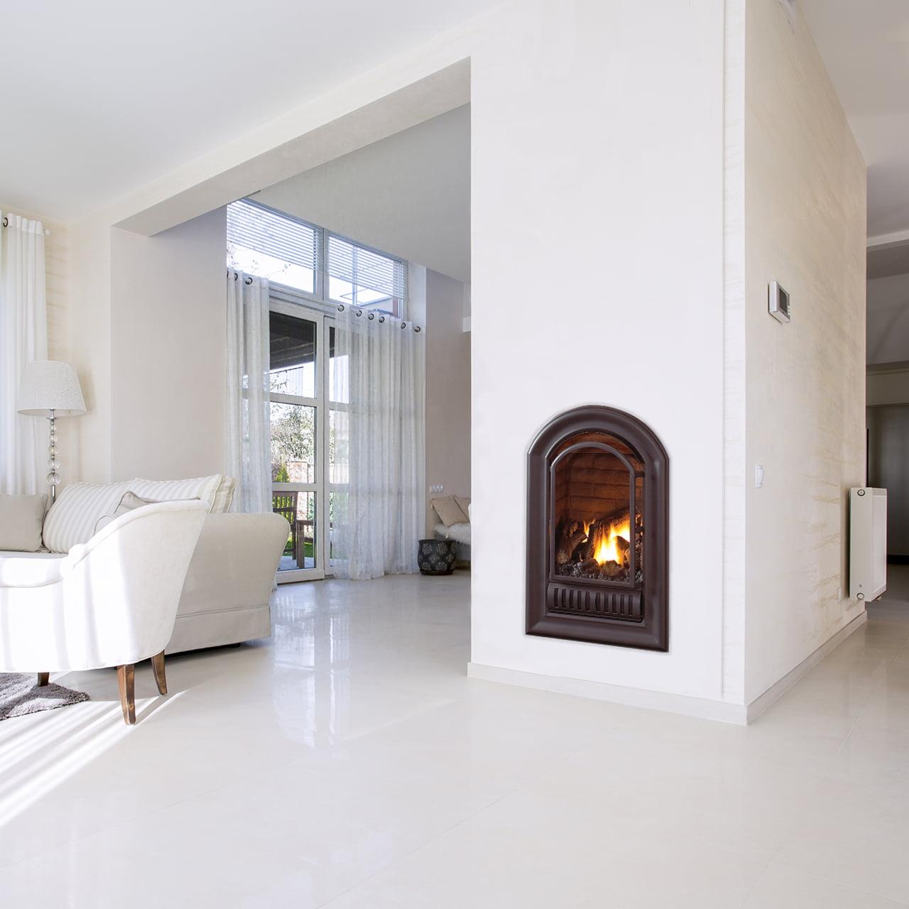 HearthSense A-Series Liquid Propane Vent Free Fireplace Insert 20,000 BTU by Vent-Free Fireplaces
