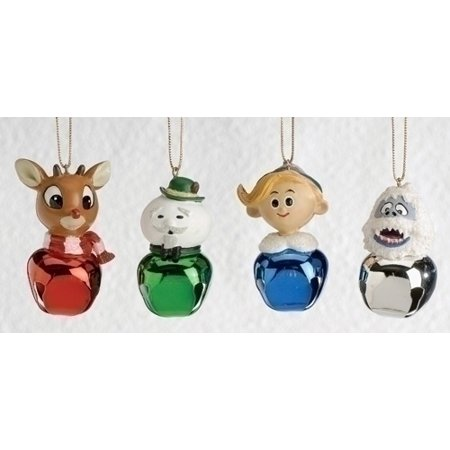 set of 4 rudolph and friends jingle buddies christmas ornaments 25 - Rudolph And Friends Christmas Decorations