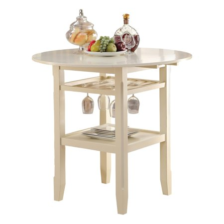 ACME Tartys Counter Height Table, Cherry
