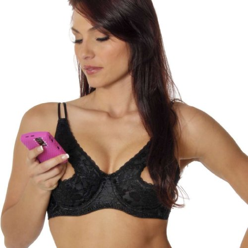 Empire Intimates Open Tip Bra Lace Full Figure Push-up ...