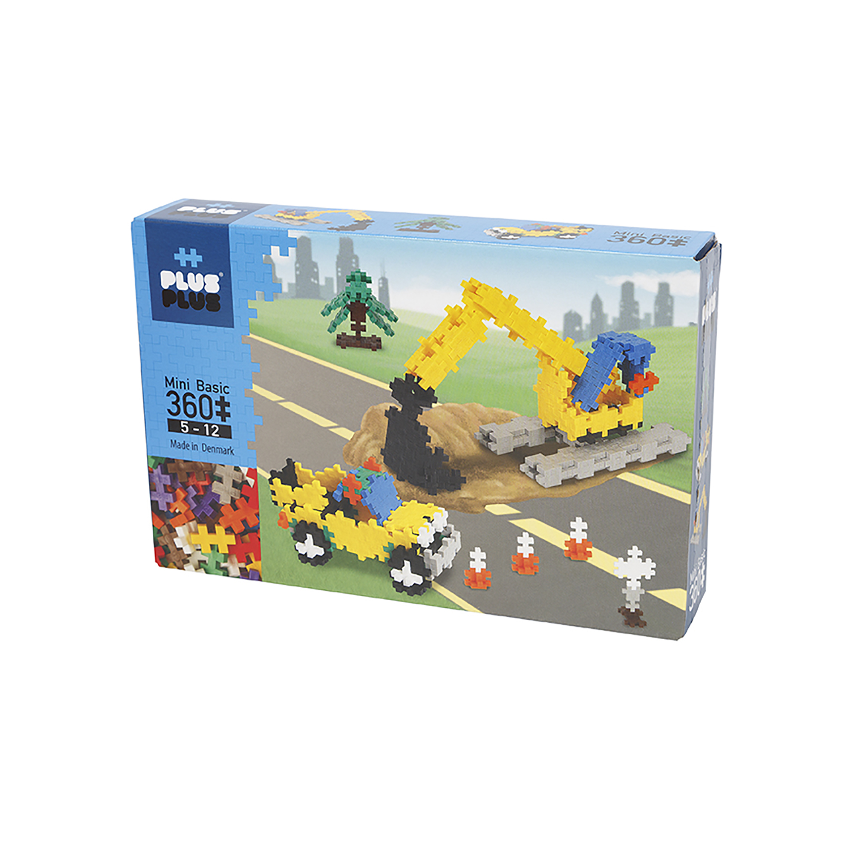 360 Piece Construction Building Set