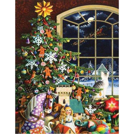 Santas Visit 500 Piece Jigsaw Puzzle
