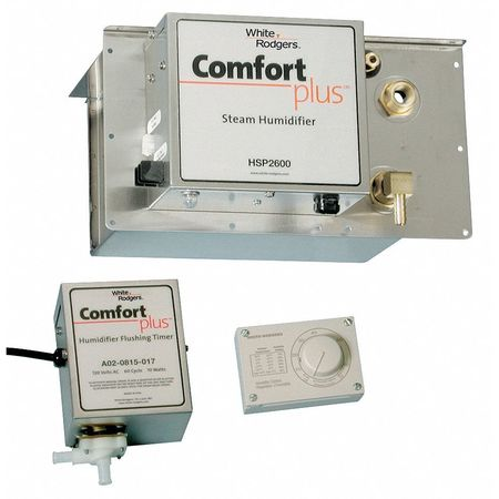Furnace Humidifier,Steam,120V WHITE-RODGERS HSP 2000