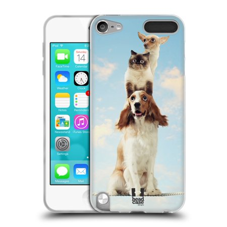HEAD CASE DESIGNS FUNNY ANIMALS SOFT GEL CASE FOR APPLE IPOD TOUCH (Case Mp3 Cases)