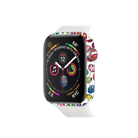 Skin for Apple Watch Series 4 40mm - Color Bugs | Protective, Durable, and Unique Vinyl Decal wrap cover | Easy To Apply, Remove, and Change Styles