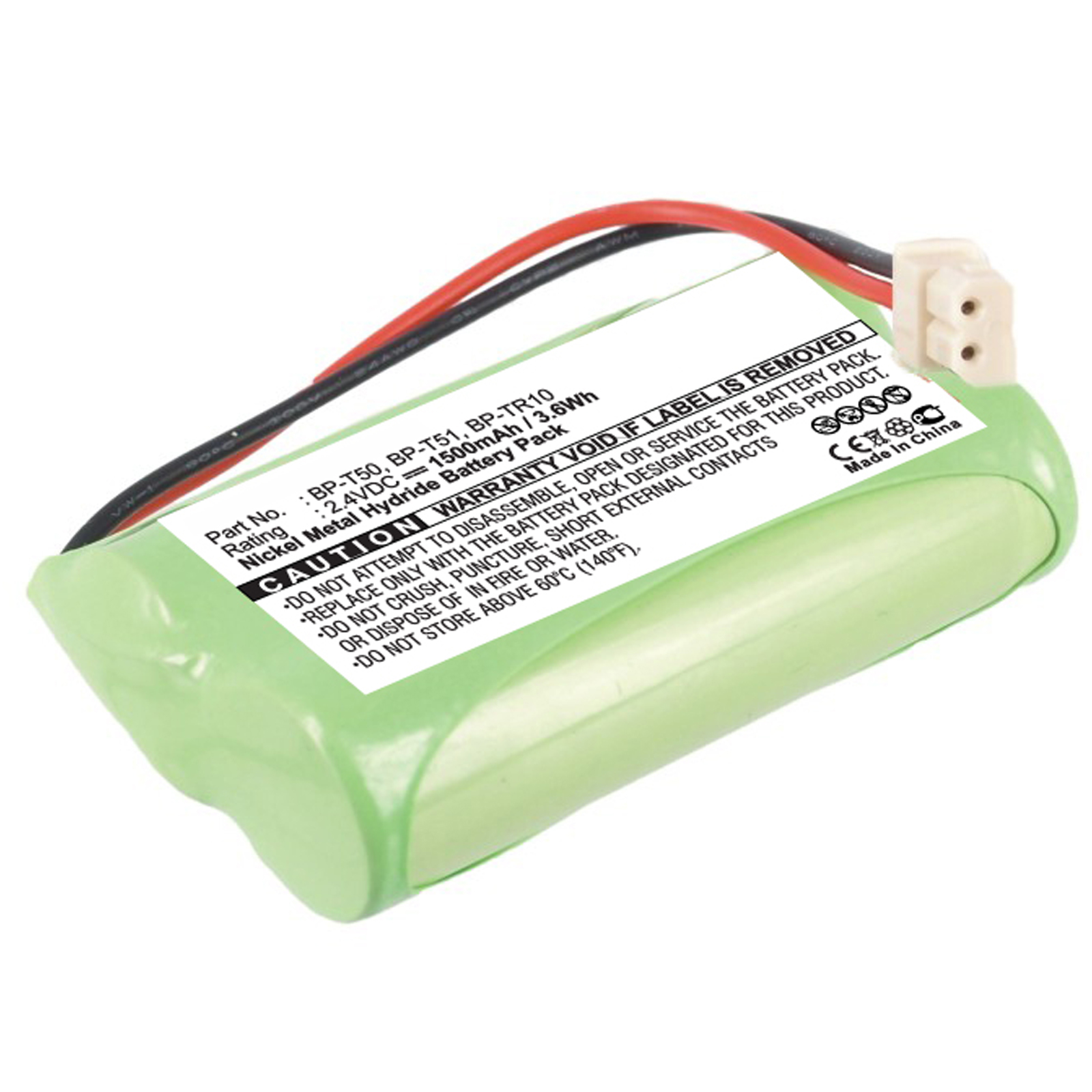 2.4V Baby Nursery Monitor Battery for Sony NTM-910YLW Replaces