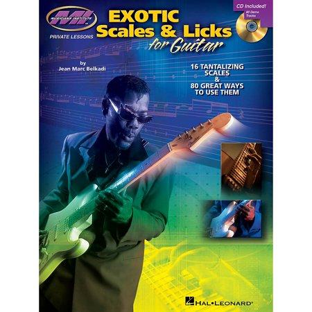 Musicians Institute Exotic Scales & Licks for Electric Guitar Musicians Institute Press BK/CD by Jean Marc Belkadi (Institute Press)