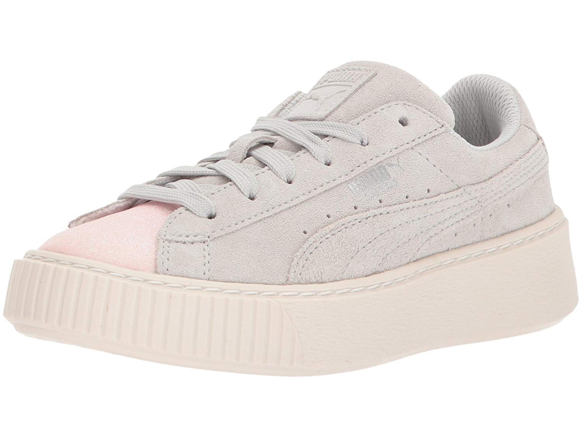sports shoes 41828 fb6c9 Puma Kids' Suede Platform Glam Sneaker