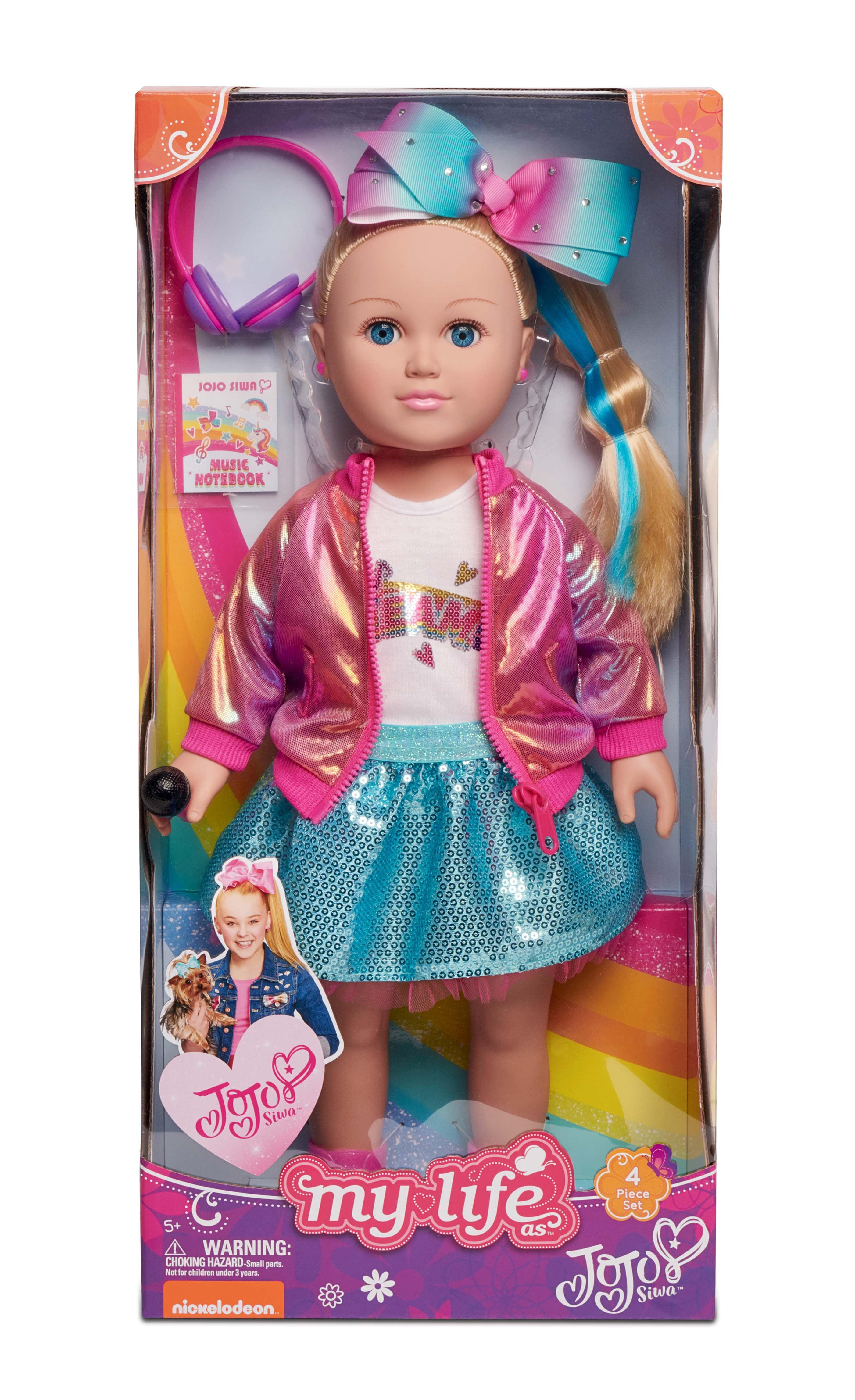 46551588dd My Life As JoJo Siwa Doll, 18-inch Soft Torso Doll with Blonde Hair, Dance  Party 2019 Release - Walmart.com