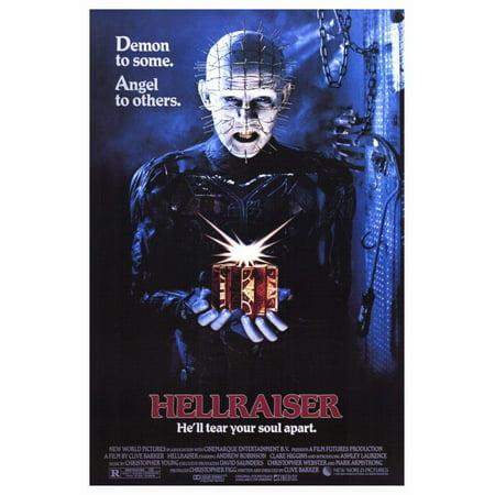 Hellraiser (1987) 27x40 Movie Poster (Hellraiser Autographed Poster)