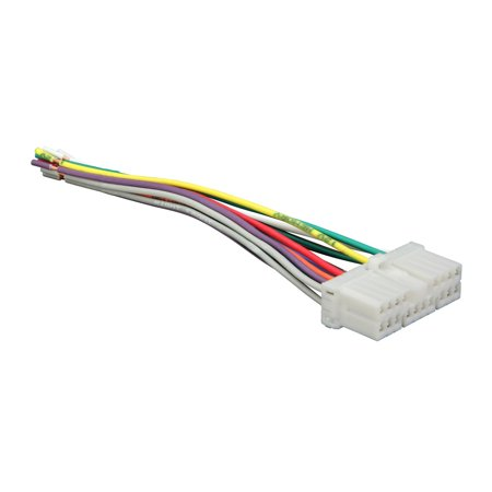 metra 71-8405 reverse wiring harness for select daewoo vehicles oem radio -  walmart com