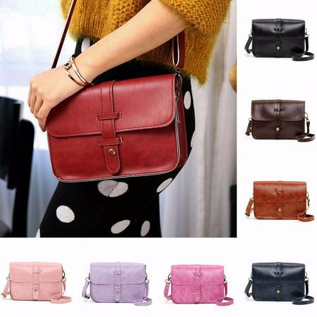 - Fashion Women Handbag Shoulder Bag Mini Leather Crossbody Messenger Bag Tote Purse Satchel