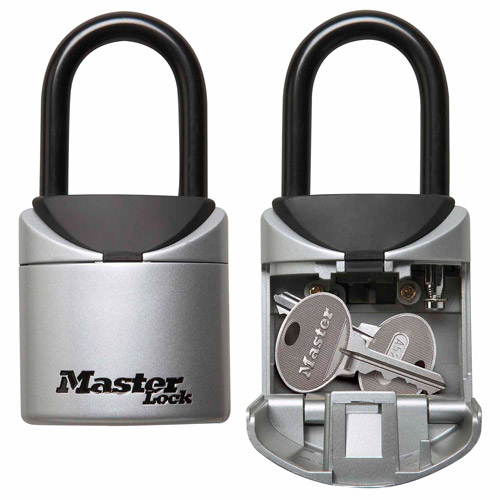 Master Lock Key Lock Box 2-3/4in (70mm) Wide Set Your Own Combination Portable Lock Box