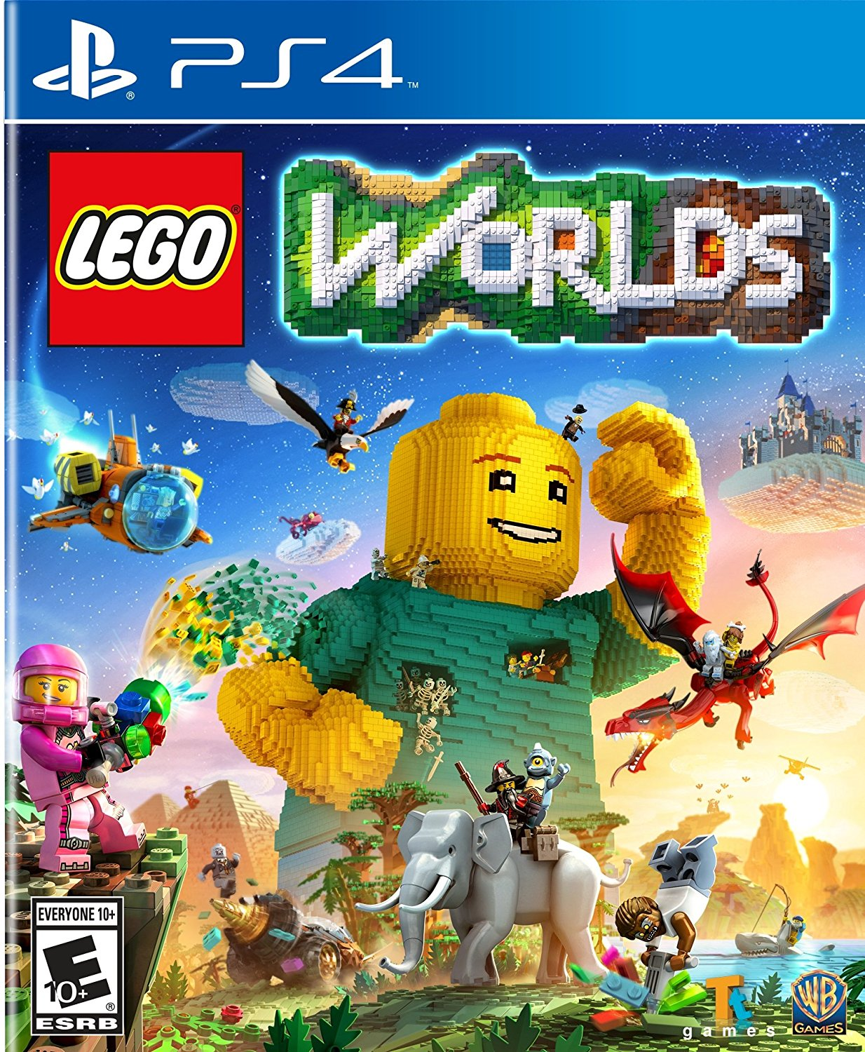 Lego Worlds for PlayStation 4 by WHV Games