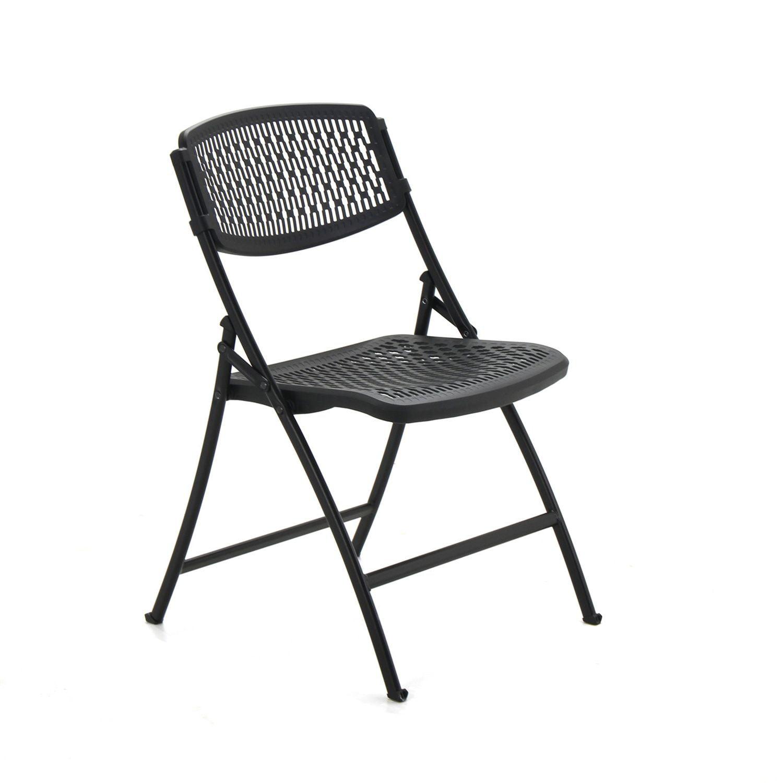 Flex e Folding Chair from Mity Lite Black Walmart