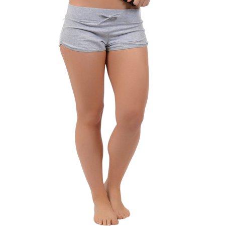Henderson Womens Shorty - Women's Beachwear Athletic Cotton Shorty Shorts