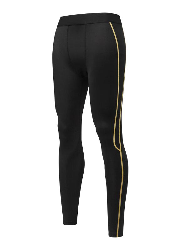 Ropalia Mens Compression Soft Basketball Long Pants Base Layers Workout Tights Under