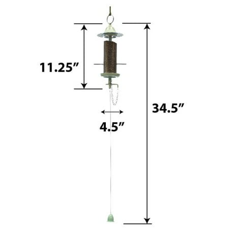 Effortless Products LLC Mini Finch Tube Bird Feeder
