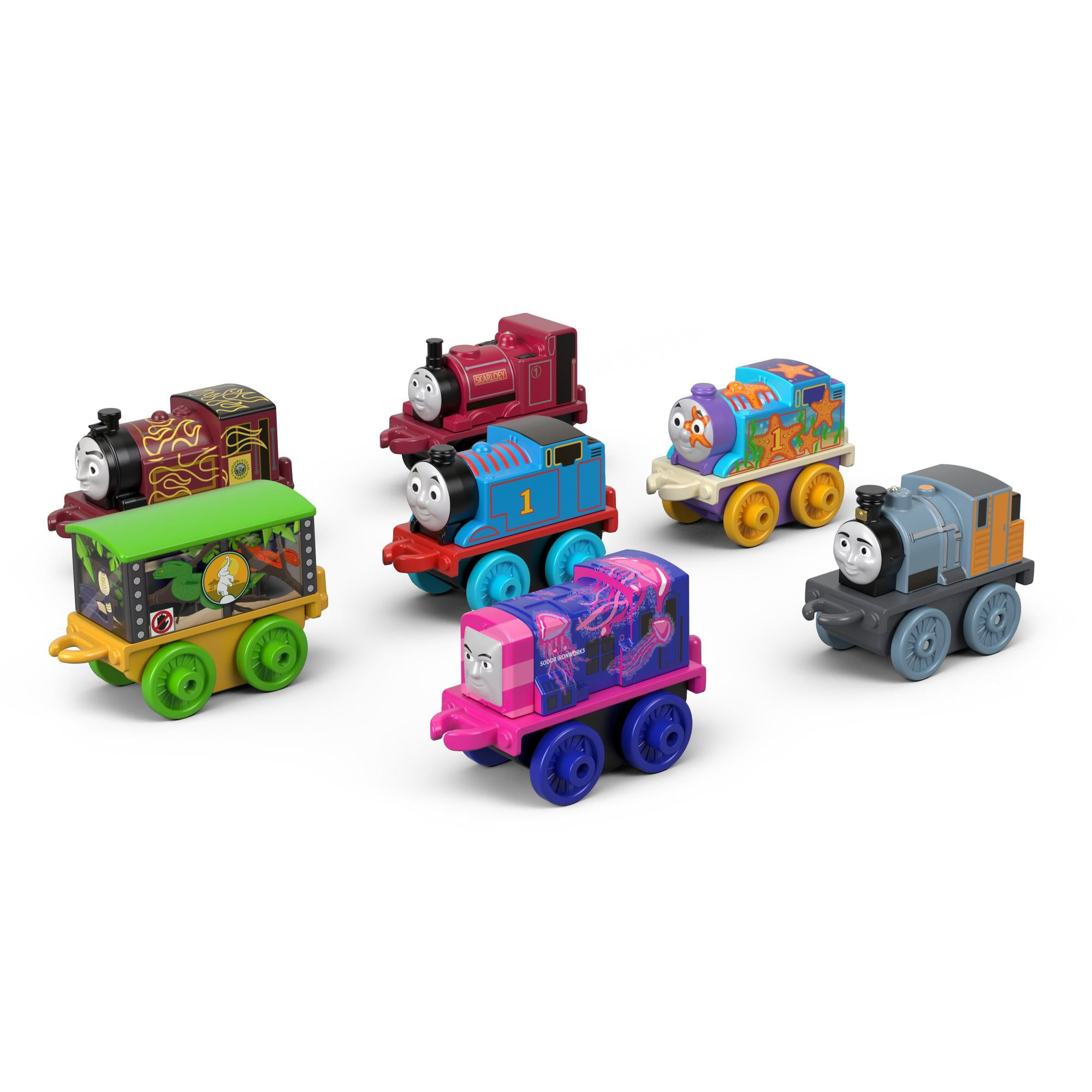 Fisher Price Thomas the Train Minis 7-Pack Pack #5