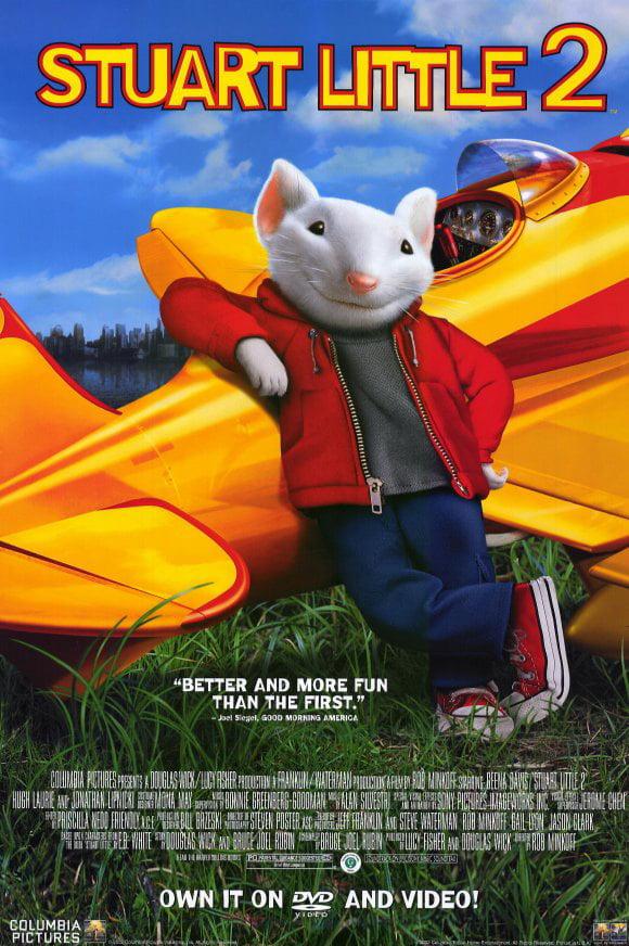 Stuart Little 2 Movie Poster Style B 11 X 17 2002 Walmart Com Walmart Com